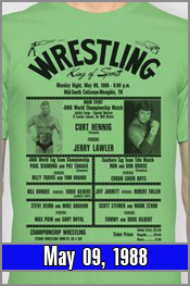 May 09, 1988 - Lawler vs Hennig