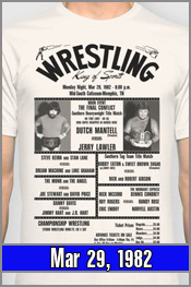 Mar 29, 1982 - Lawler vs Dutch