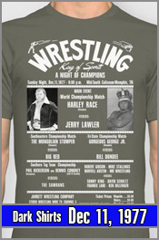 Dec 11, 1977 - Lawler vs Harley Race
