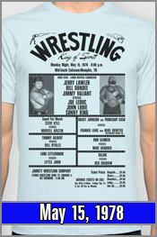 May 15, 1978 - 6-Man Match